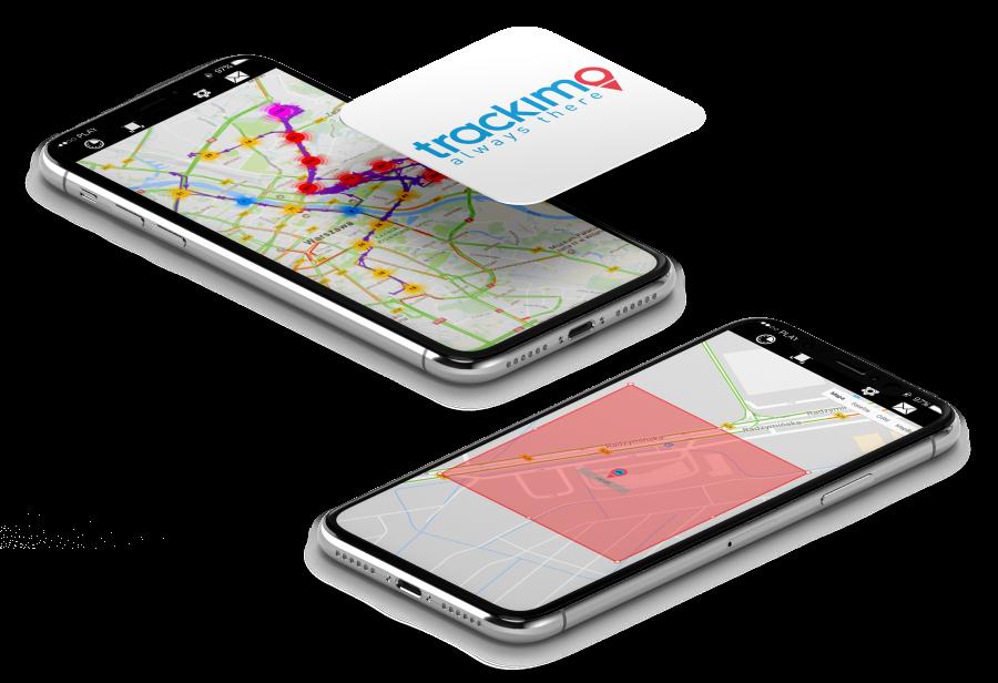 Aplikacja Trackimo
